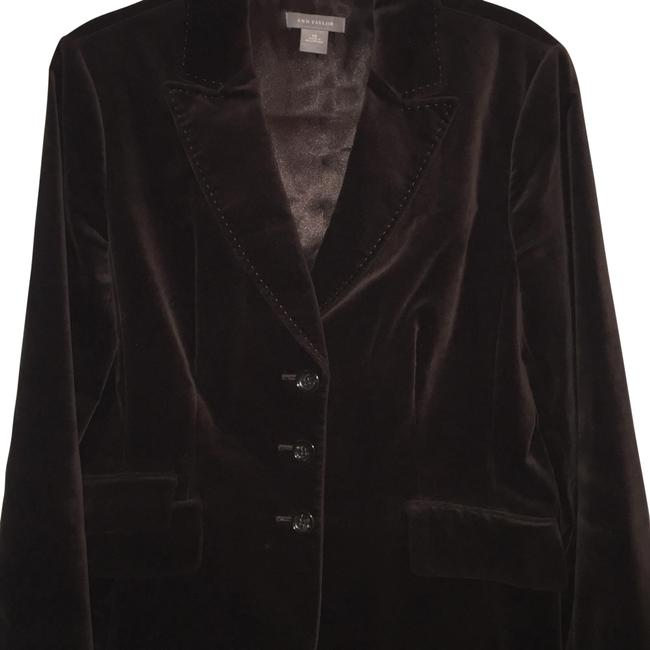 Item - Brown Velvet Blazer Size 14 (L)
