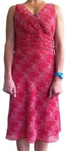 Ann Taylor LOFT short dress Coral/Pink on Tradesy