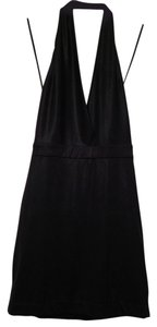 bebe Halter Mini Dress