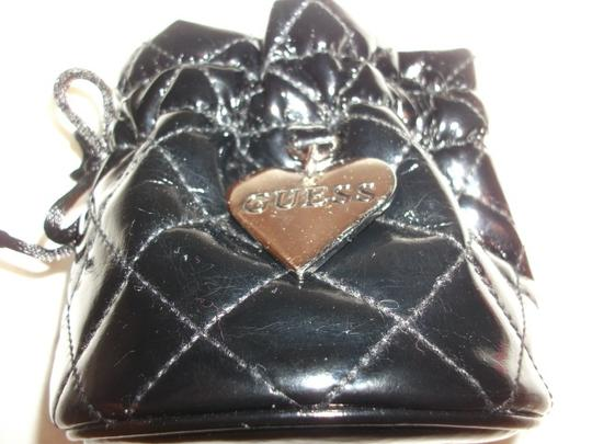 Guess FREE with a $24 purchase and over, Guess Quilted Black pvc