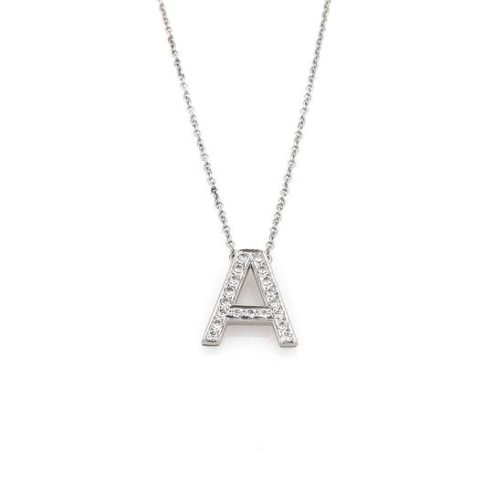 Preload https://img-static.tradesy.com/item/22709662/tiffany-and-co-diamond-letter-a-platinum-pendant-chain-necklace-0-0-540-540.jpg