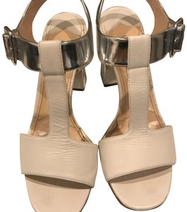 Prada white and silver Sandals