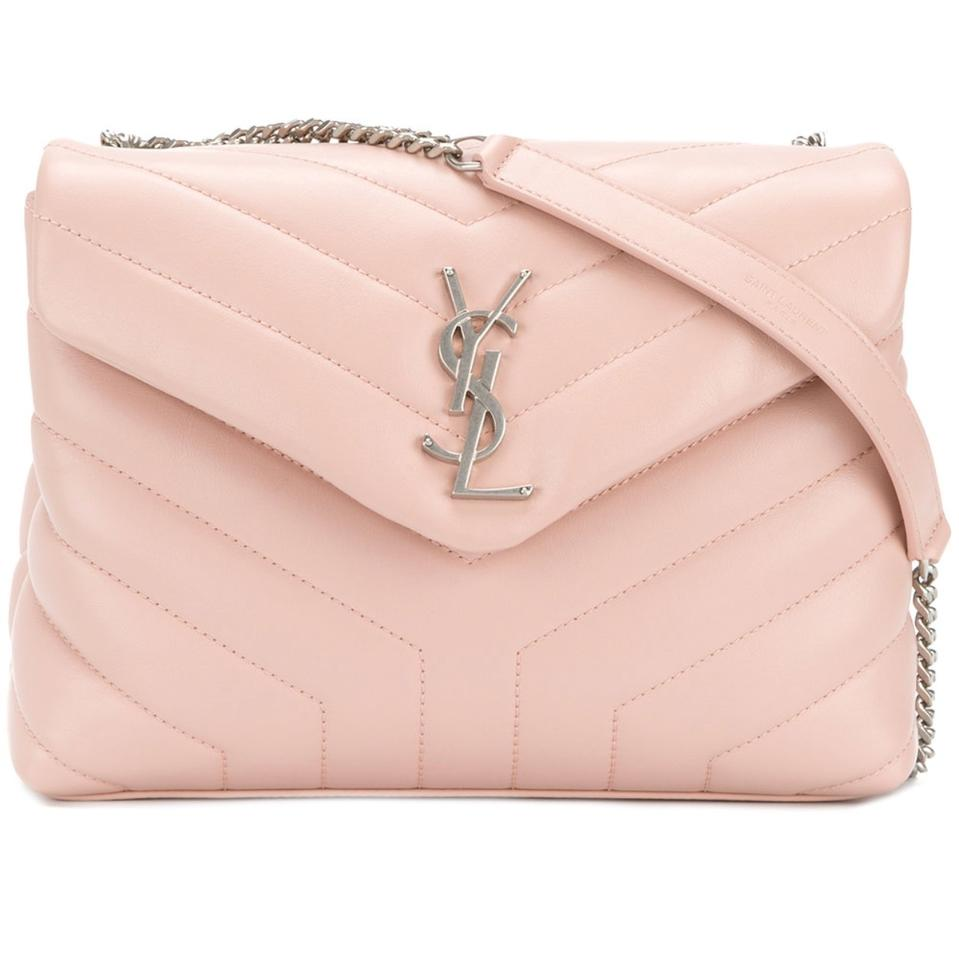 YSL Quilted Calfskin Leather Wallet on a Chain Never been worn YSL 19d0788a69b38