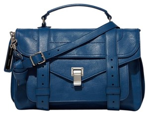 Proenza Schouler Satchel in Peacock Blue