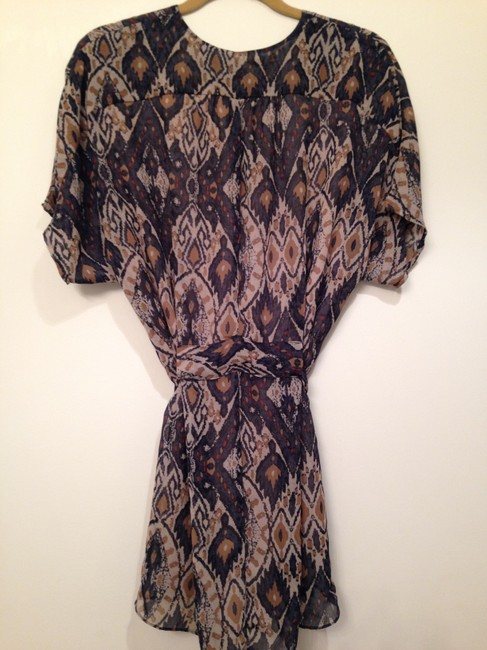 Collective Concepts short dress Blue Western on Tradesy