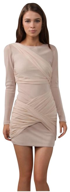 Item - Nude Goddess Mid-length Formal Dress Size 4 (S)