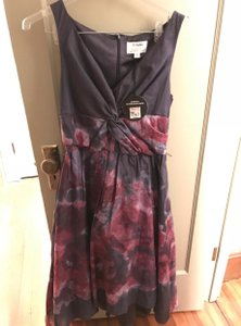 Lela Rose LELA ROSE FOR NEIMAN MARCUS elegant full skirt floral dress