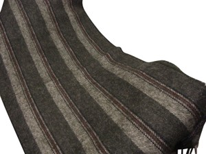 Burberry BURBERRY Heritage Grey Scarf in 100% Lambswool