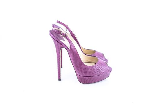 Jimmy Choo Purple Pumps Image 3