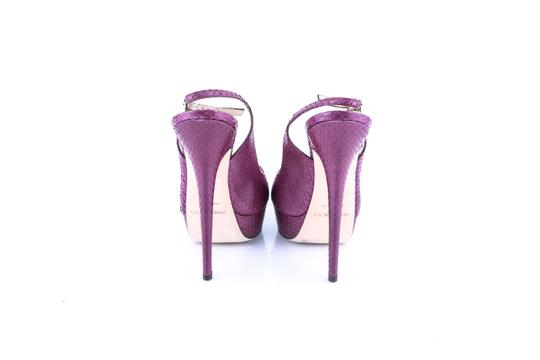 Jimmy Choo Purple Pumps Image 4