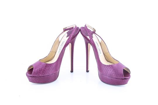 Jimmy Choo Purple Pumps Image 5