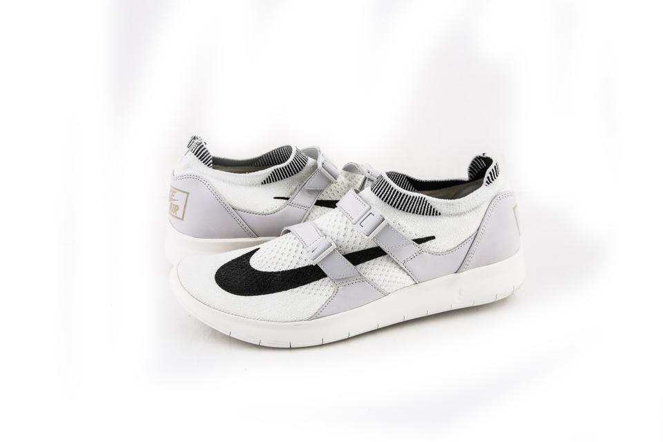 bda19c8185e8 Nike Black White Nikelab Air Sockracer Flyknit Sail   - Sail Shoes Image 0  ...