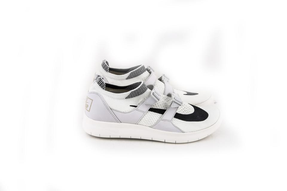 a0ba759ef650 Nike Black White Nikelab Air Sockracer Flyknit Sail   - Sail Shoes Image 7.  12345678