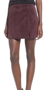 BlankNYC Mini Skirt Maroon