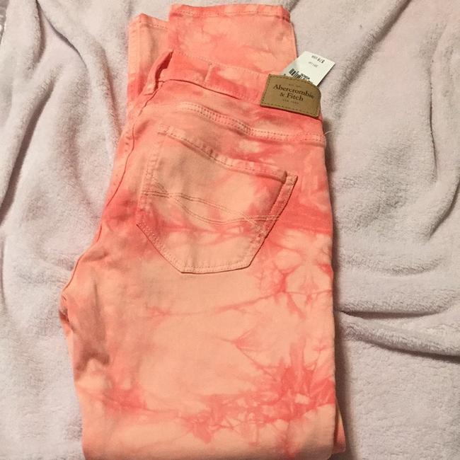 Abercrombie & Fitch Capris Pink And White