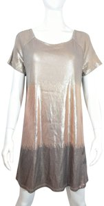 Free People Party Sparkly Glitter Cling Loose Dress