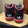 adidas Black and red Athletic Image 3