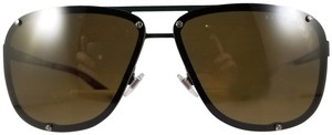 Ralph Lauren RALPH LAUREN Sunglasses RL7055 900573 Matte Green Brown edge temples