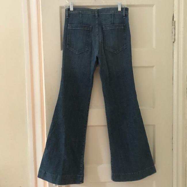 The Great. Trouser/Wide Leg Jeans-Medium Wash Image 4