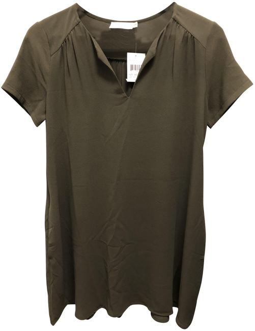 Item - Olive Green Short Casual Dress Size 2 (XS)