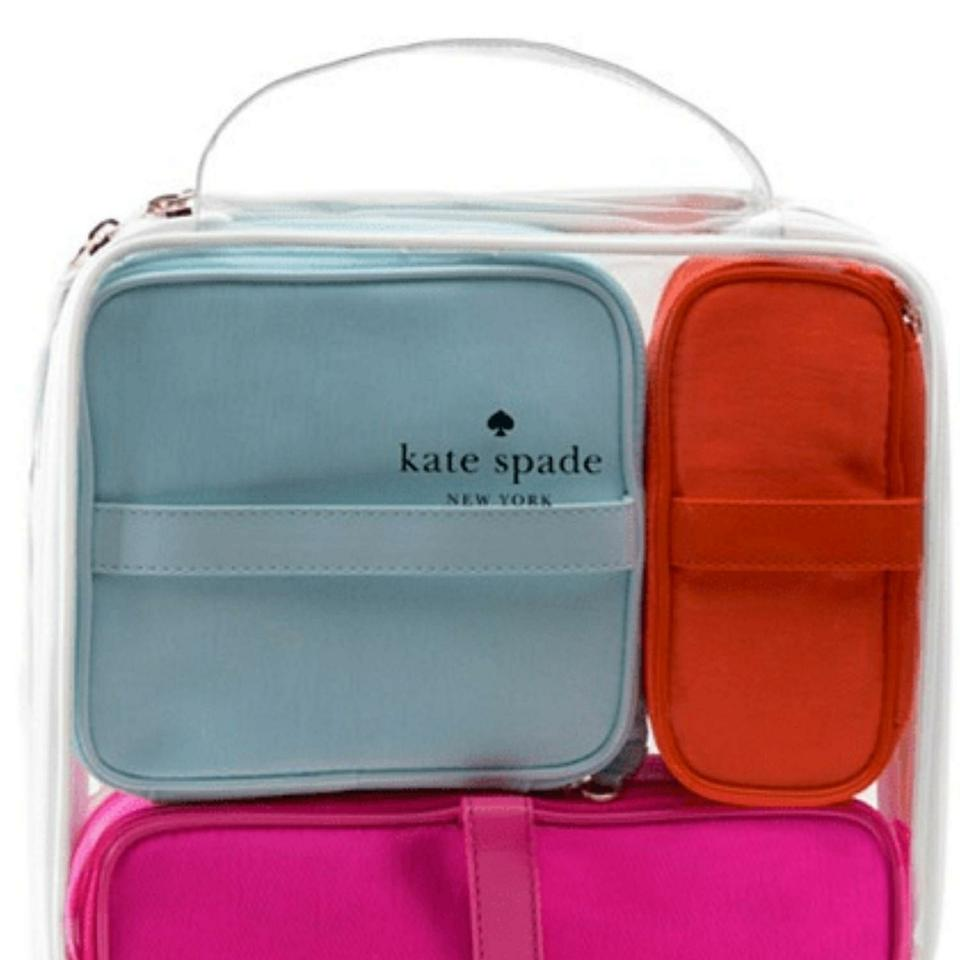 Kate Spade Brand New With Tags Toiletry Makeup Cosmetic Bag Travel