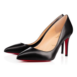 Christian Louboutin Pigalle 85 Pigalle 85 Leather Pigalle Black Pumps