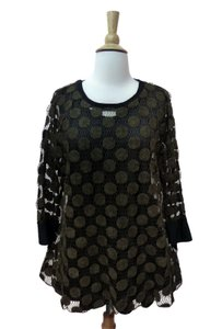 I.C. by Connie K. Double Layer A-line Size Medium Tunic