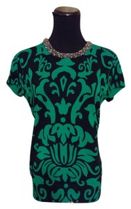 INC International Concepts Top Green & black