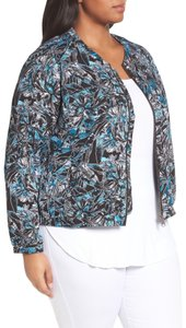 Sejour Jungle Printed Bomber Jacket