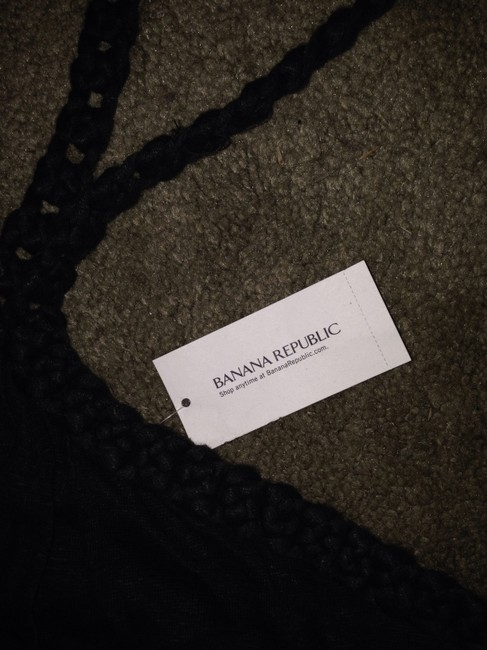 Banana Republic Gray Halter Top