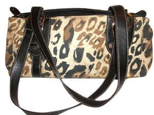 croft & Barrow & Leopard Print Shoulder Bag
