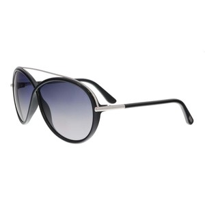 Tom Ford Tom Ford Black/Silver Oval Sunglasses