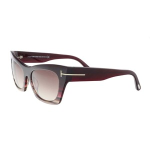 Tom Ford Tom Ford Plum/Brown Cateye Sunglasses