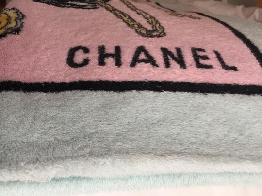 Chanel Chanel Pink Beach Towel 1996 - RARE Image 6