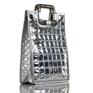 Chanel Tote in Aged Silver