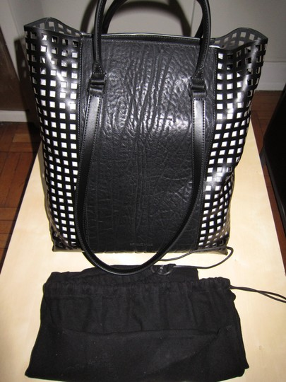 Helmut Lang Limited Edition Argon Made In Italy Tote in Black