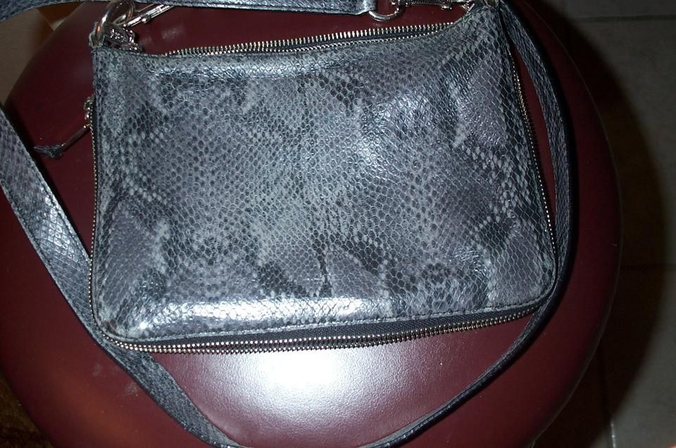 Bag Cole Embossed Grey Haan Cross Lizzard Body nYBz1qwY