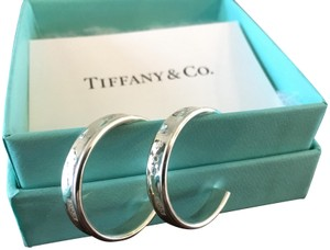 Tiffany & Co. Tiffany 1837 Hoop Earrings