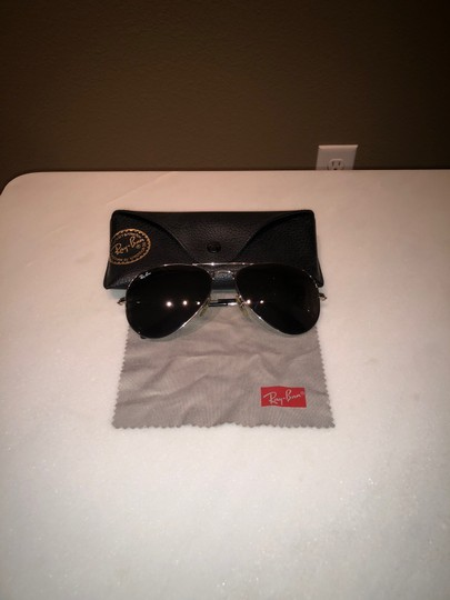 Ray-Ban RB 3025 Silver Aviator w/ Silver Mirror Lens Image 1