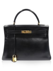 Hermès Kelly Vintage Satchel in Black