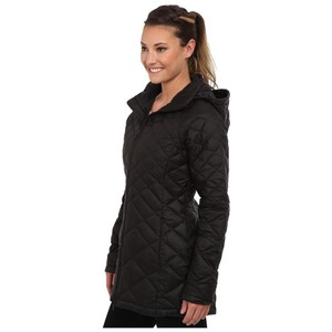 The North Face Black Transit 550 Down Quilted Jacket Puffy/Ski ... : north face quilted coats - Adamdwight.com