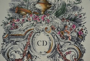 Dior Christian Dior Scarf, Multi color and Pure Silk, Exquisite!!!