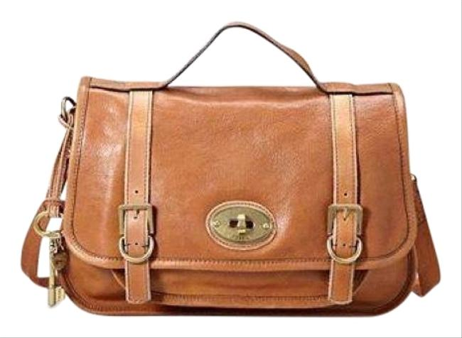 Item - Vintage Reissue (Vri) Light Brown Pebbled Leather Messenger Bag