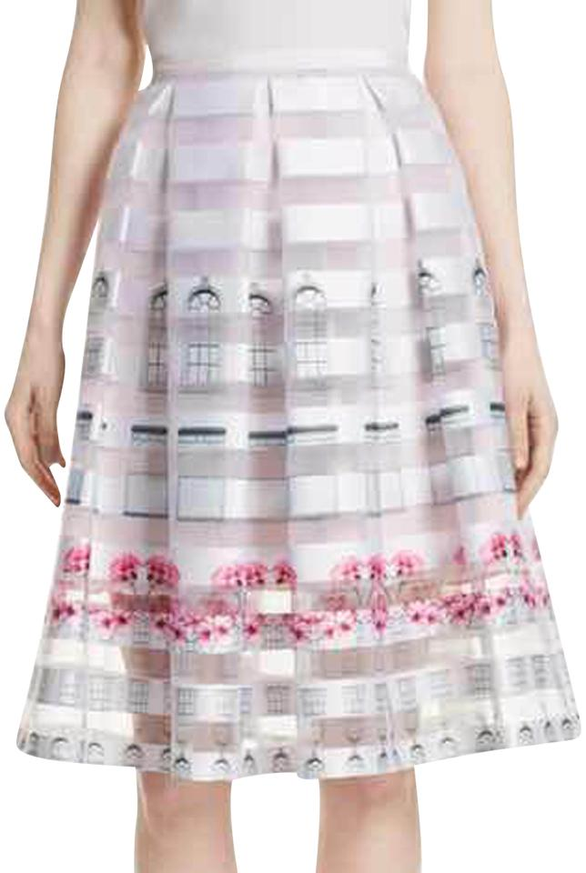 f18ea4211 Ted Baker Baby Pink Niica Window Skirt Size 8 (M