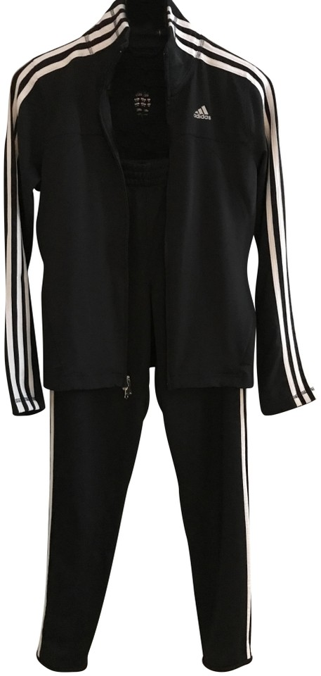promo code dfaf7 8741c adidas Black and White Climacool Track Suit Activewear Sportswear Size 4  (S, 27) 55% off retail