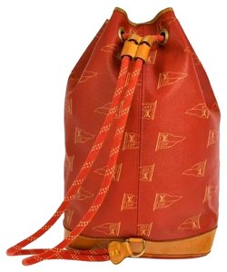 Louis Vuitton Limited Edition School Boating Sports Sack Casual Shoulder Rare Yachting Backpack