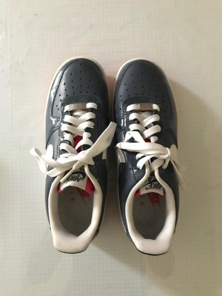 quality design 84463 c0096 Nike Af1 6.5 AIR FORCE 1 MONSOON BLUE WHITE PINK SNEAKERS Athletic Image  10. 1234567891011