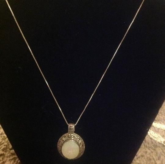 Other sterling with opal charm Image 2