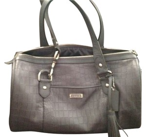 Coach Satchel in Slate (purple)