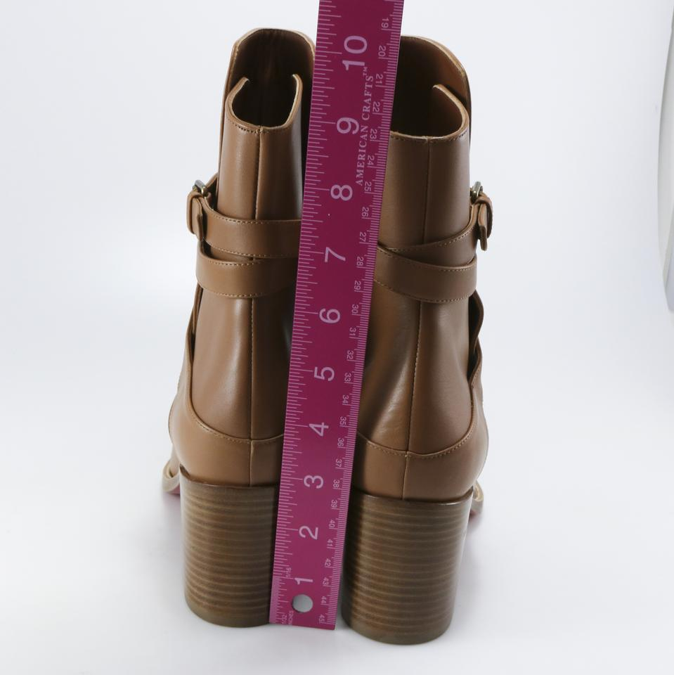 e059e04893a9 Christian Louboutin Brown Karistrap 70mm Cuoio Calf A494 Boots Booties Size  EU 40.5 (Approx. US 10.5) Regular (M
